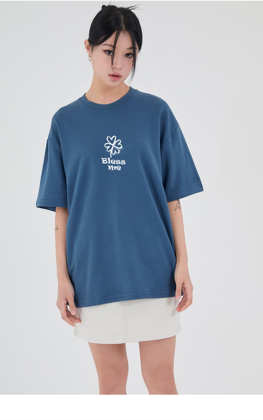 어커버(ACOVER) 블레스미 티셔츠 화이트