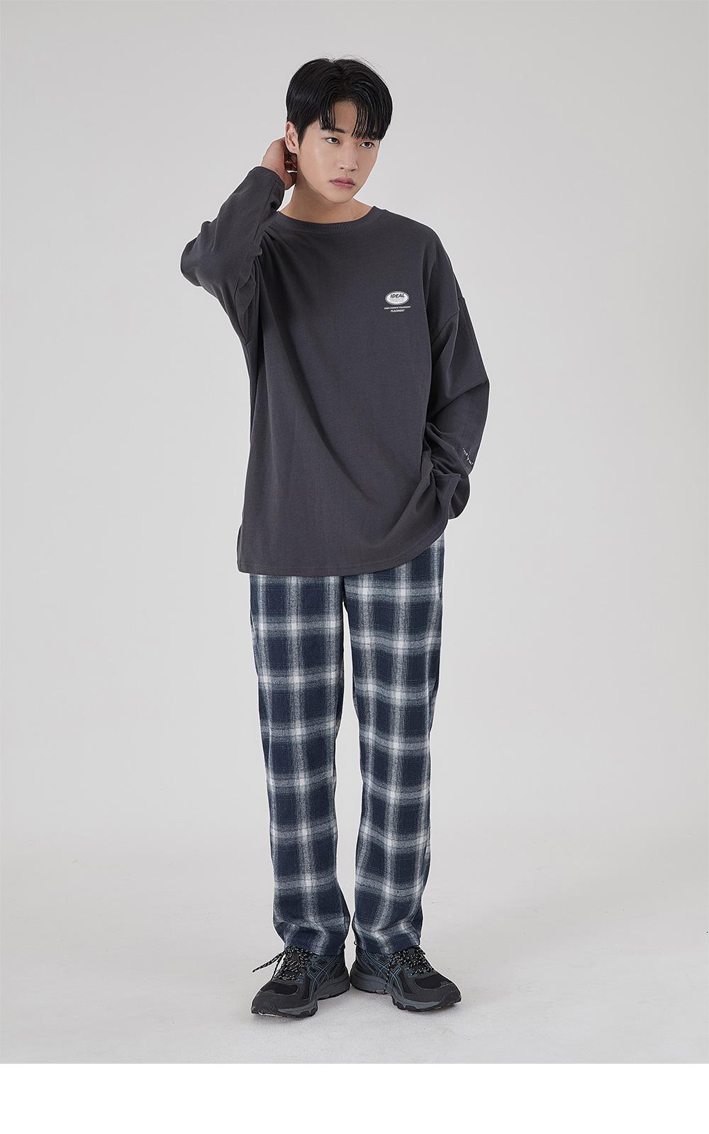 어커버(ACOVER) 포인트 서클 롱티셔츠 5color